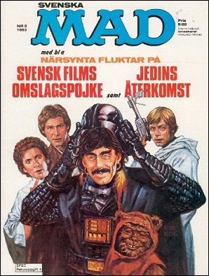 MAD Magazine #9 1982 • Sweden