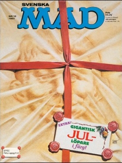 Go to MAD Magazine #10 1982 • Sweden
