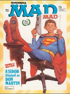 Go to MAD Magazine #1 1983 • Sweden