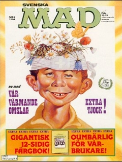 Go to MAD Magazine #4 1983 • Sweden
