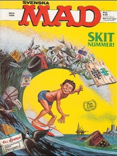 Go to MAD Magazine #5 1983 • Sweden