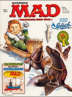 Go to MAD Magazine #1 1984 • Sweden