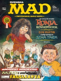 Go to MAD Magazine #3 1984 • Sweden