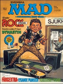 Go to MAD Magazine #5 1984 • Sweden