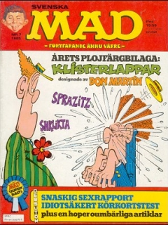 Go to MAD Magazine #7 1984 • Sweden
