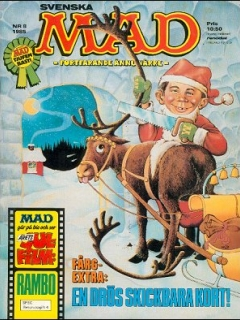 Go to MAD Magazine #8 1984 • Sweden