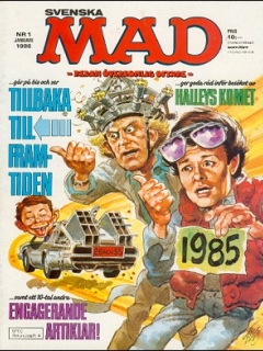 Go to MAD Magazine #1 1985 • Sweden
