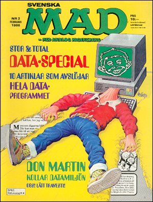 MAD Magazine #229 • Sweden