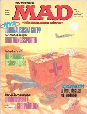 MAD Magazine #4 • Sweden