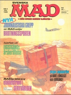 Go to MAD Magazine #4 1985 • Sweden