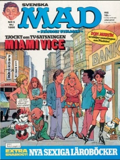 Go to MAD Magazine #5 1985 • Sweden