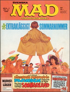 MAD Magazine #233 • Sweden