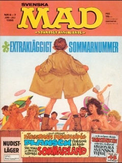 Go to MAD Magazine #6 1985 • Sweden