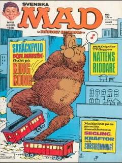 Go to MAD Magazine #8 1985 • Sweden