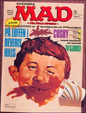 MAD Magazine #10 • Sweden