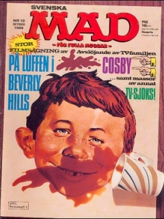 Go to MAD Magazine #10 1985 • Sweden