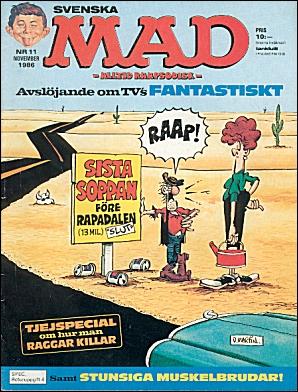 MAD Magazine #11 • Sweden