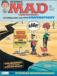 Go to MAD Magazine #11 1985 • Sweden