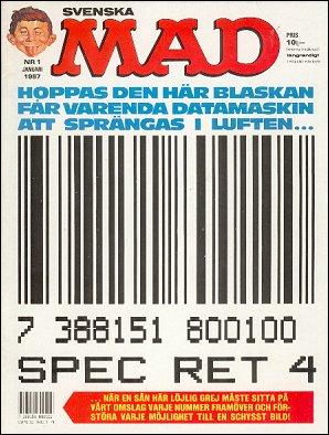 MAD Magazine #239 • Sweden