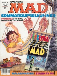 Go to MAD Magazine #6 1986 • Sweden