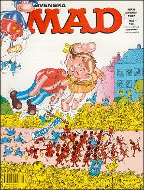 MAD Magazine #9 • Sweden