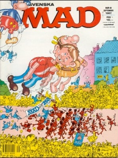 Go to MAD Magazine #9 1986 • Sweden