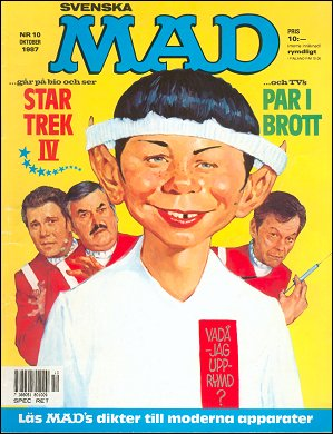 MAD Magazine #247 • Sweden