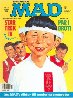 Go to MAD Magazine #10 1986 • Sweden