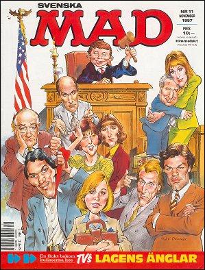 MAD Magazine #11 1986 • Sweden