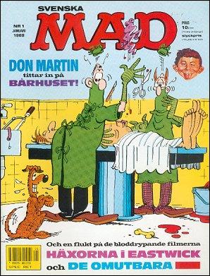 MAD Magazine #250 • Sweden
