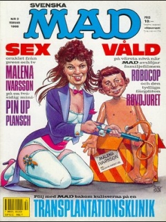 Go to MAD Magazine #251 • Sweden