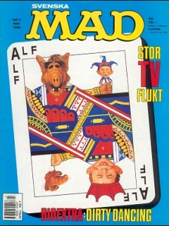 Go to MAD Magazine #3 1987 • Sweden