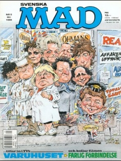 Go to MAD Magazine #5 1987 • Sweden