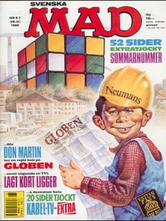 Go to MAD Magazine #6 1987 • Sweden