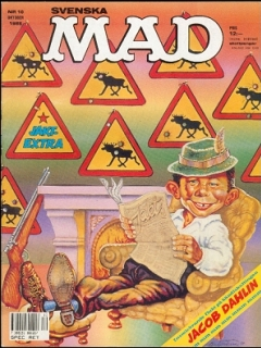 Go to MAD Magazine #10 1987 • Sweden