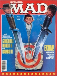 Go to MAD Magazine #11 1987 • Sweden