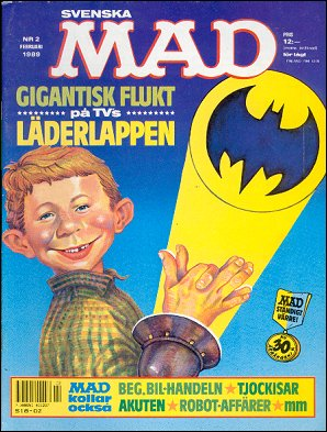 MAD Magazine #2 1988 • Sweden