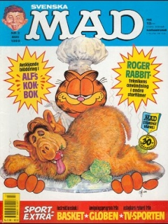 Go to MAD Magazine #3 1988 • Sweden