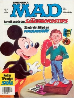 Go to MAD Magazine #265 • Sweden