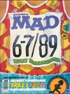 Go to MAD Magazine #6 1988 • Sweden