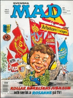 Go to MAD Magazine #8 1988 • Sweden