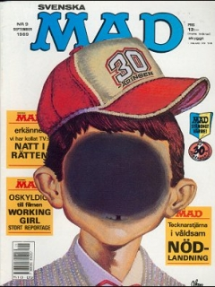 Go to MAD Magazine #9 1988 • Sweden