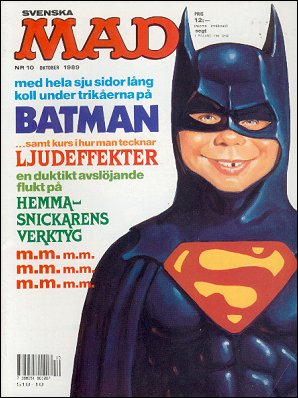 MAD Magazine #10 1988 • Sweden