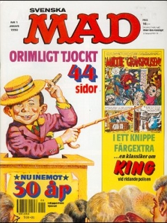 Go to MAD Magazine #1 1989 • Sweden