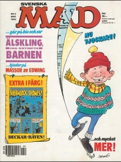 Go to MAD Magazine #2 1989 • Sweden