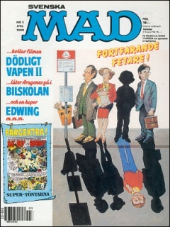 Go to MAD Magazine #3 1989 • Sweden