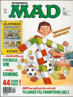 Go to MAD Magazine #4 1989 • Sweden