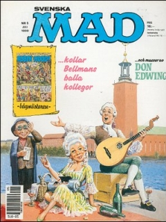 Go to MAD Magazine #5 1989 • Sweden