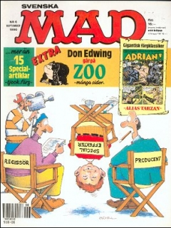 Go to MAD Magazine #6 1989 • Sweden