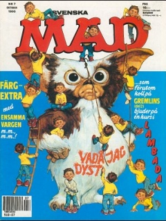 Go to MAD Magazine #7 1989 • Sweden